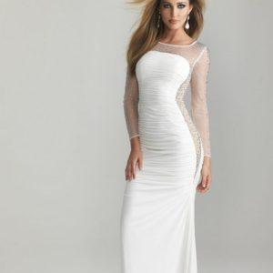 Белое платье — советы как выбрать и с чем лучше носить модные и красивые белые платья 2019 года (110 фото)