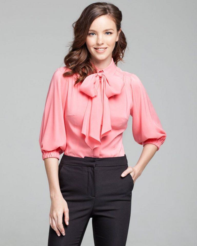 нельзя выкладвать объемная блузка с чем носить фото подходят