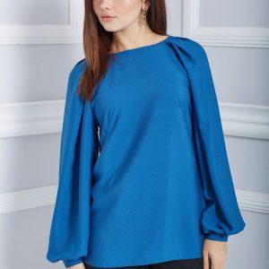 Блузка с рукавом — советы стилистов, актуальные тенденции и основные модели сезона (125 фото)