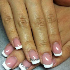 Френч на ногтях — пошаговая инструкция как сделать своими руками стильный и красивый французский маникюр (100 фото)