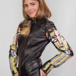 Кожаные женские куртки — 115 фото осенних и весенних стильных моделей и сочетаний