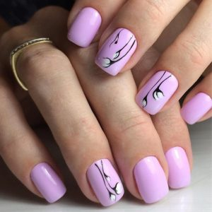 Маникюр осень 2018 — 95 фото актуальных и модных вариантов дизайна ногтей и лучших сочетаний