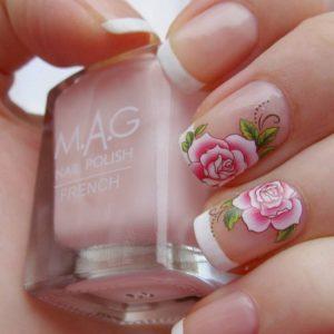 Маникюр с цветами — оригинальные идеи и тенденции стильных украшений в виде цветков (125 фото)