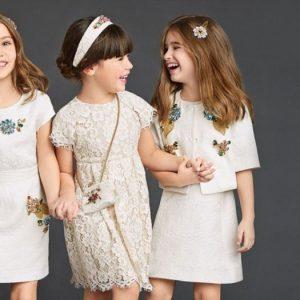 Платья для девочек — правила выбора и самые стильные наряды для детей (130 фото)