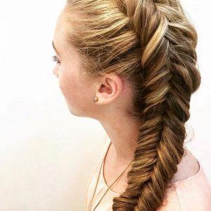Прическа с косой — оригинальные идеи и стильные сочетания для детей и взрослых (75 фото)
