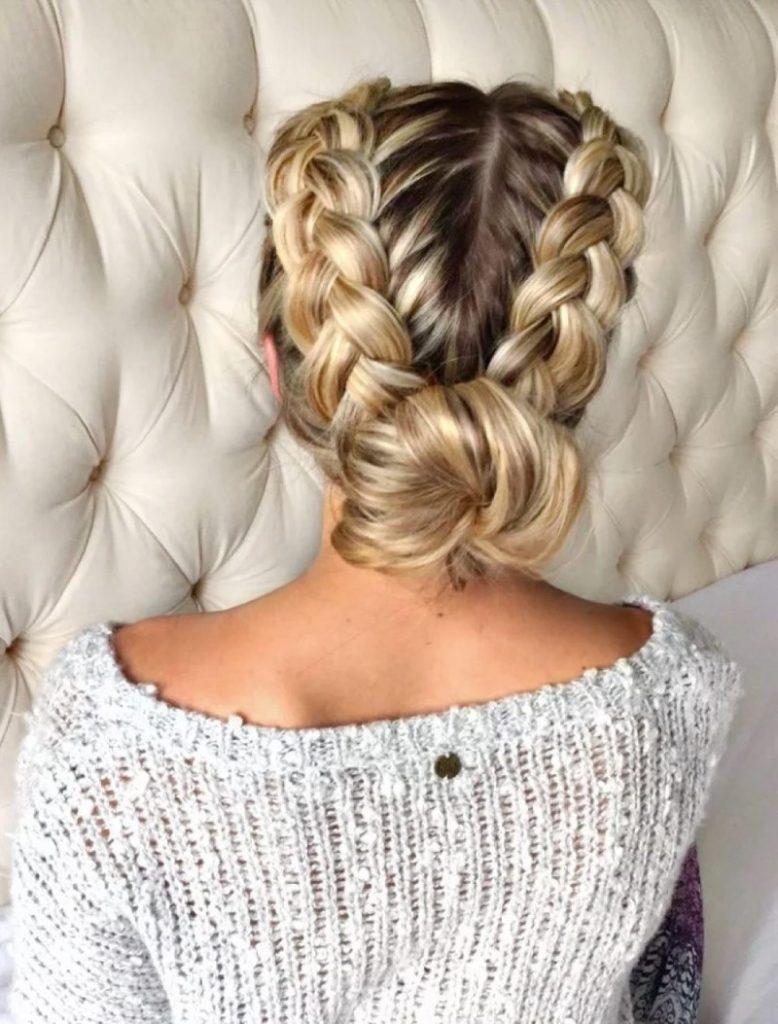 Виды косичек фото и схемы вязания волосы