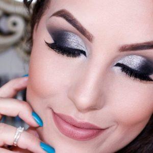 Серый макияж — 130 фото лучших сочетаний и пошаговое описание нанесения теней