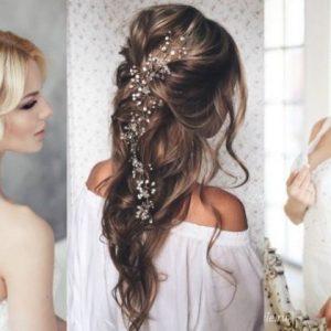 Свадебные прически — красивые и современные свадебные модели причесок и укладок для невесты (105 фото)