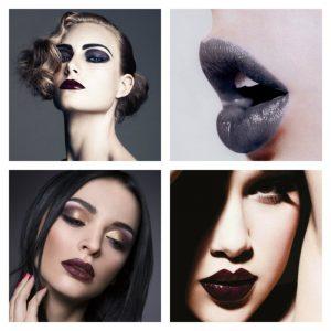Темный макияж — вечерний, повседневный и праздничный макияж темных оттенков (70 фото и видео)