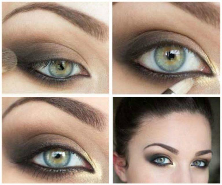 что постоянные вечерний макияж для зеленых глаз фото поэтапно что хочу