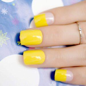 Желтый маникюр — самые красивые варианты оформления. 140 фото лучших идей использования желтого лака